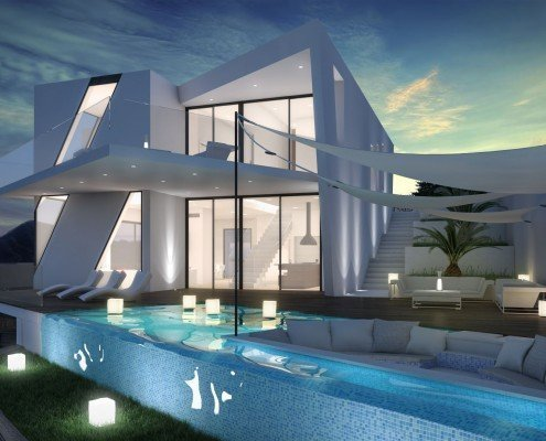 Coming soon introducing a new build villa project in for Model villa moderne