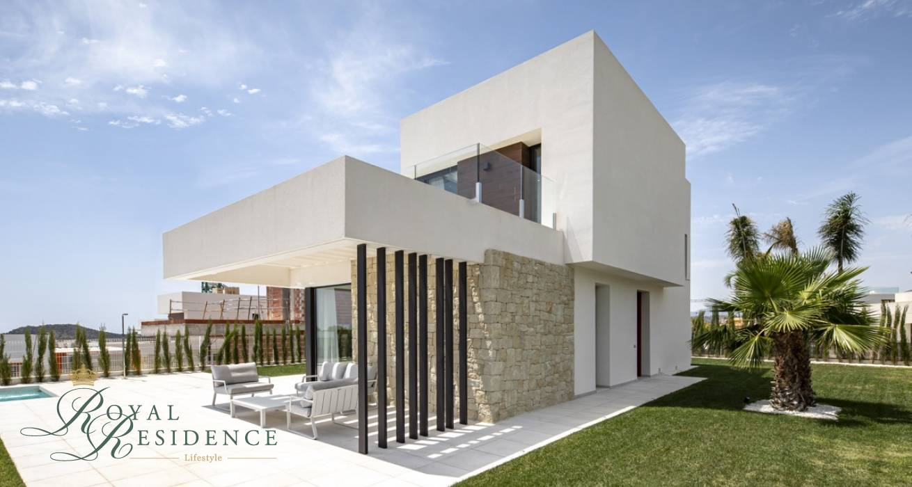 Detached House with pool in Finestrat