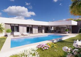 Modern project villa close to Benissa Costa