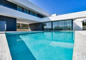 Key ready newly built villa with sea views in Javea