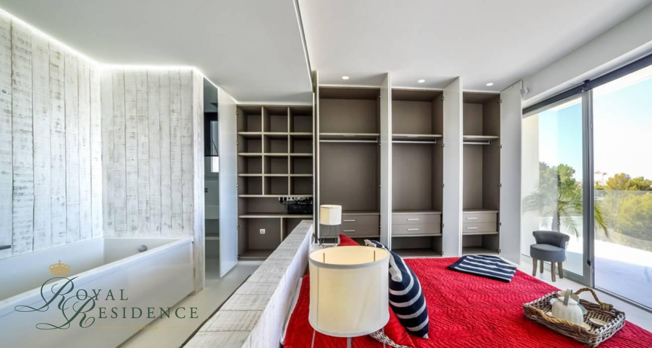 Spacious newly built modern villa in Sierra de Altea