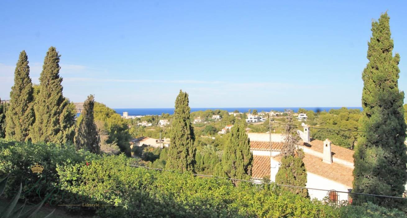 Traditional sea view villa in Javea.