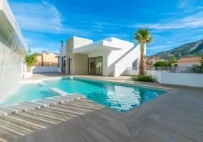 Beautiful designer villa with sea views in Albir