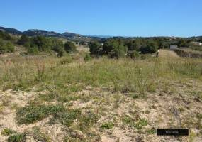 Rustic plot in Teulada with sea view