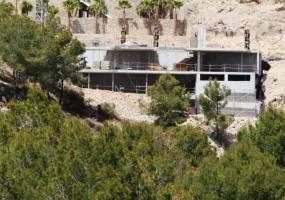 Villa under construction in Benissa