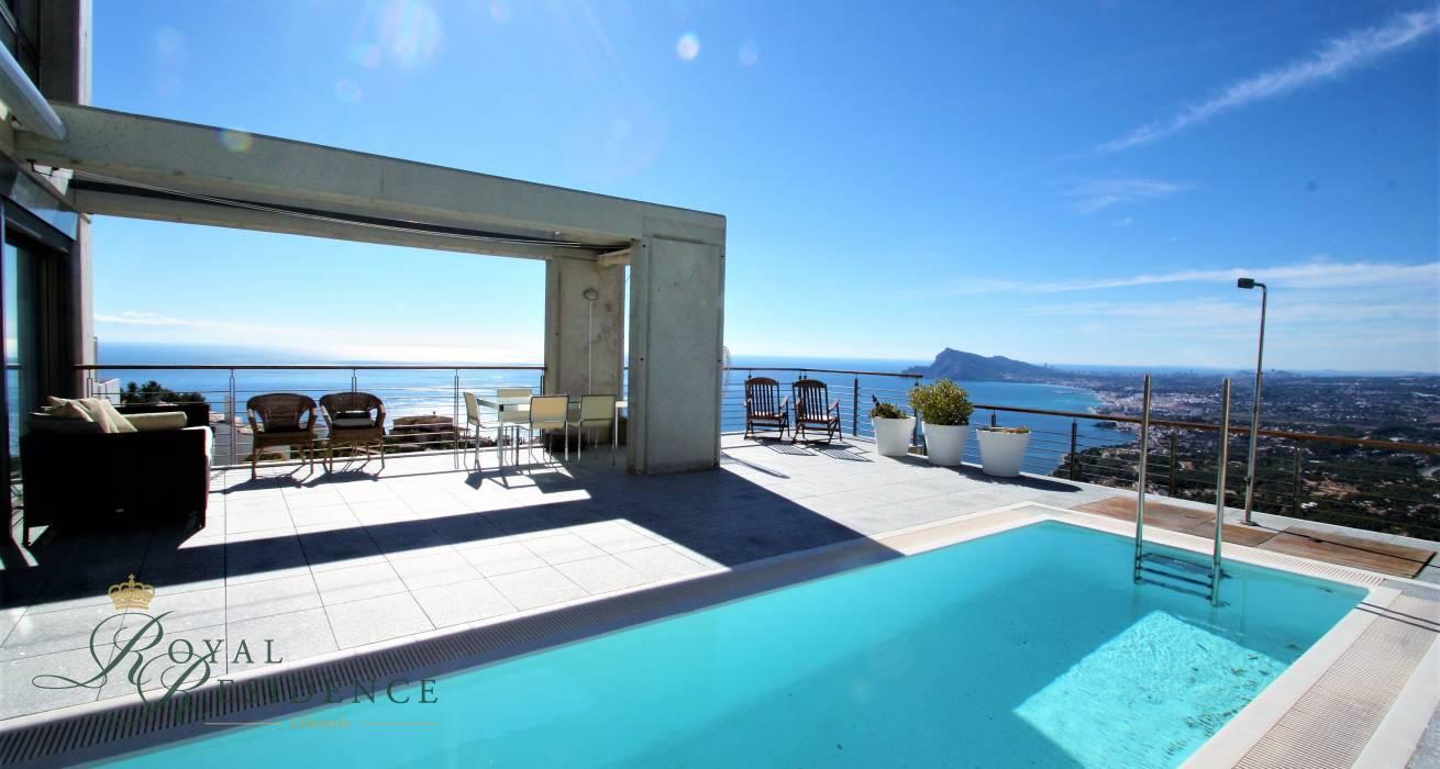 Modern villa in Altea Hills