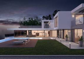 Off plan villa in Javea