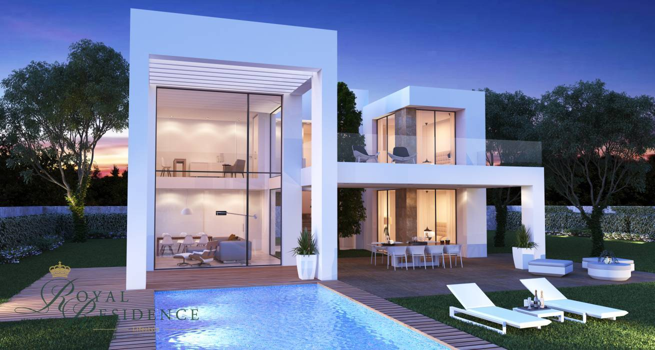 Villa under construction in Javea