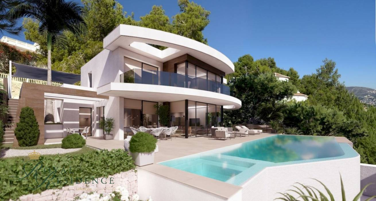 Moraira, Costa Blanca, Spain, 4 Bedrooms Bedrooms, ,5 BathroomsBathrooms,Villa,Sale,1762