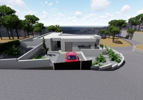 Project of 3 bedroom villa in Benitachell