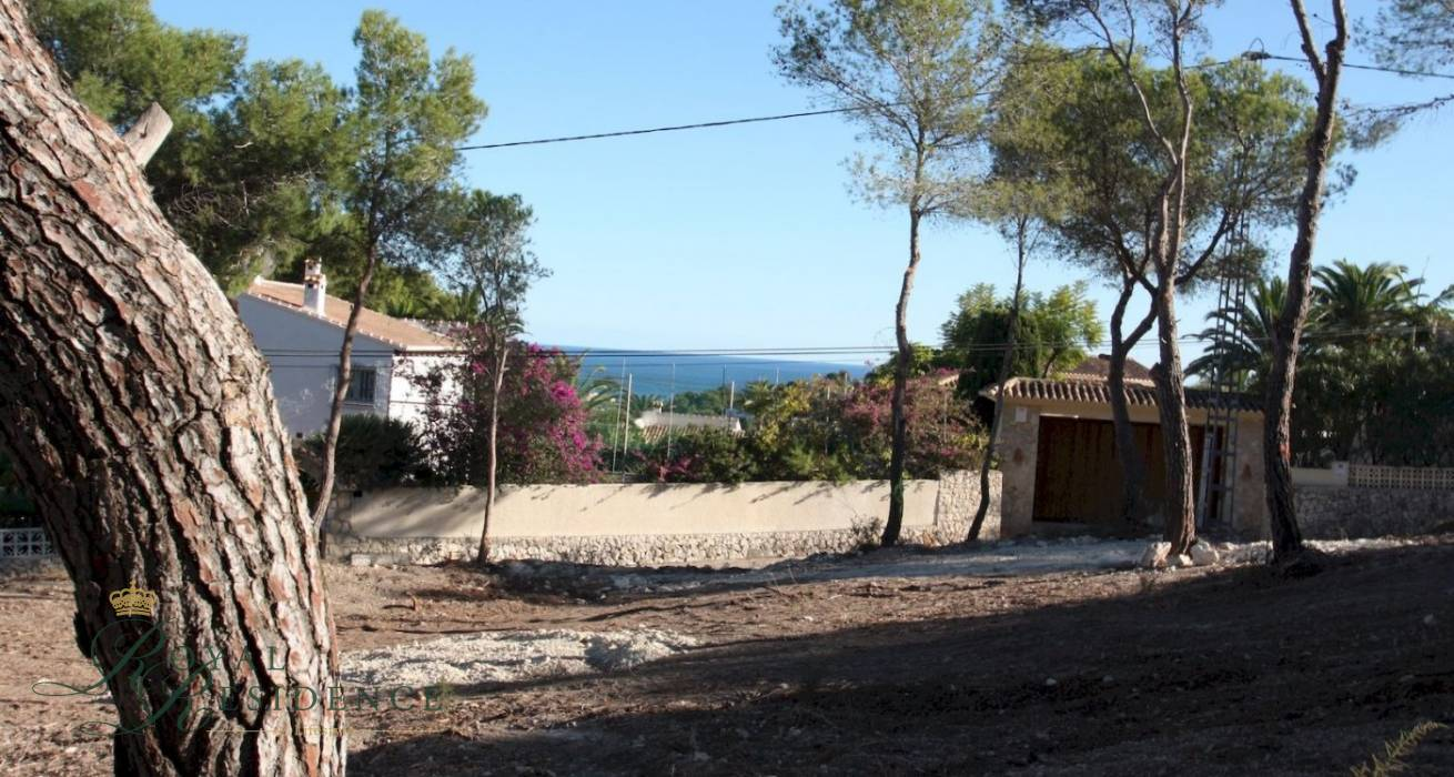 Project of luxury villa in Moraira