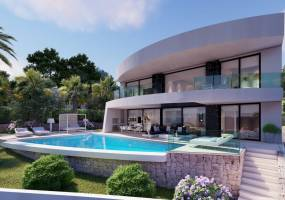 Project of luxury villa in Moraira
