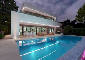 Modern luxury villa in Moraira