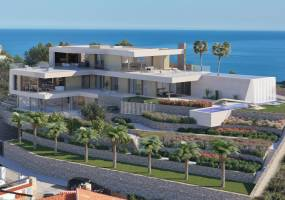 Luxury designer villa to be built in Moraira