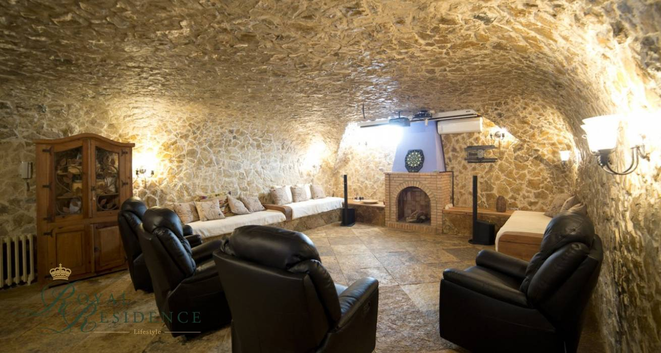 Traditional villa situated between Calpe and Benissa