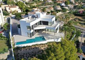 Recently built luxury villa in Calpe