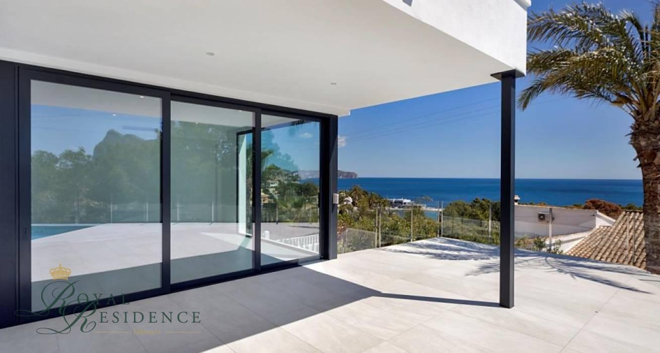 Recently built luxury villa in Calpe